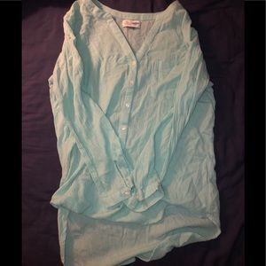 Teal old navy tunic. Size M